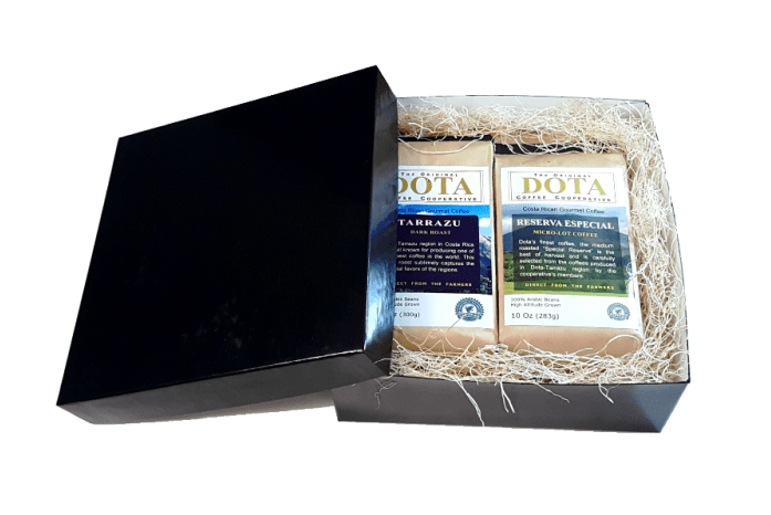 dota gift box micro-lot costa-rica-coffee